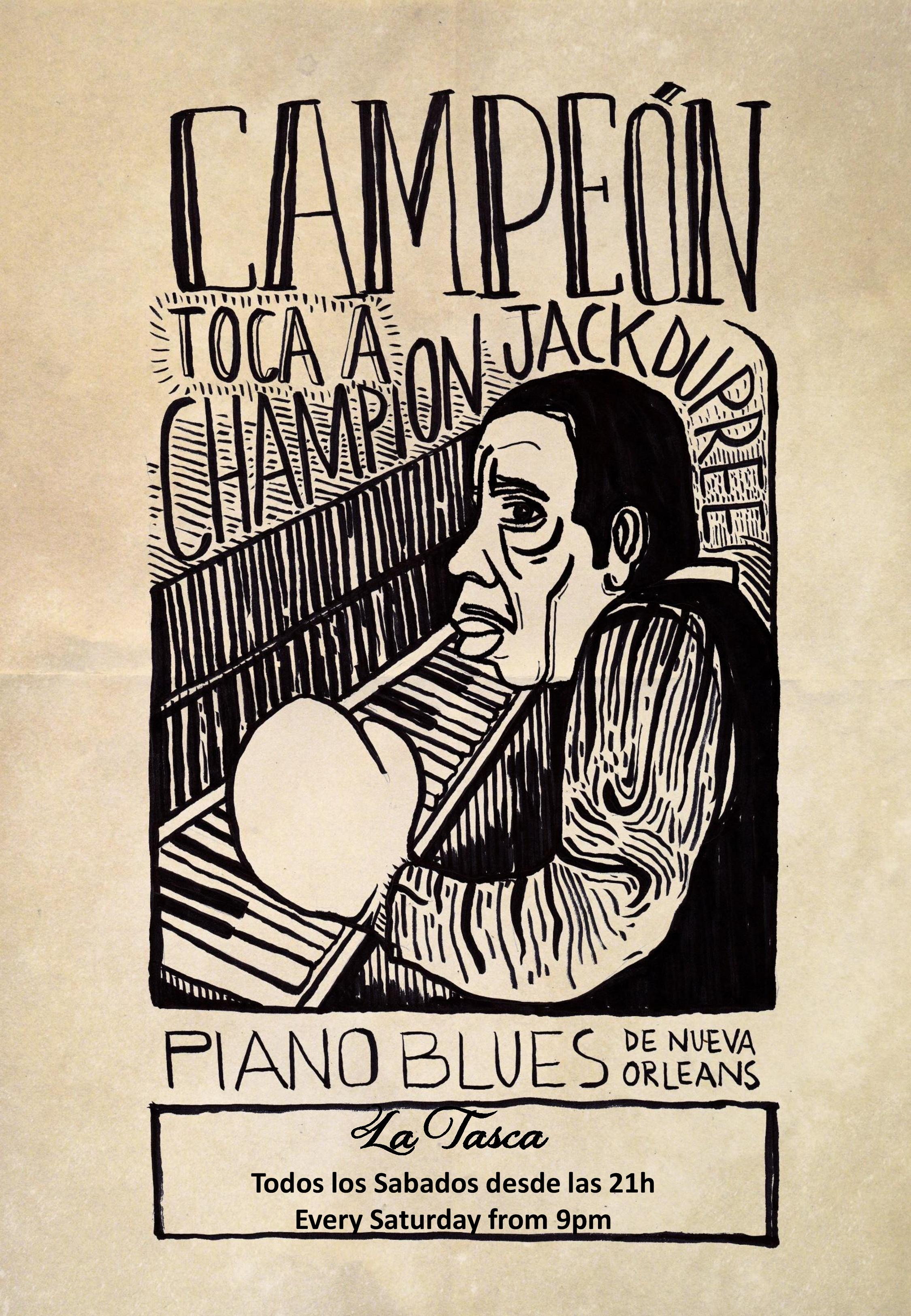 Piano Blues de Nueva Orleans